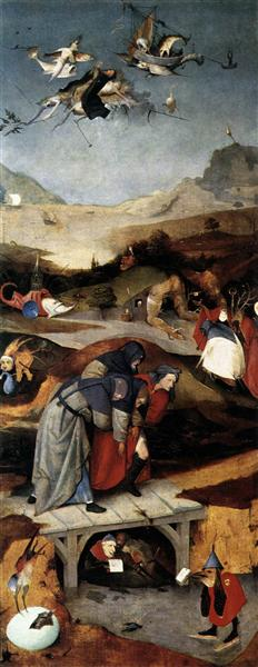 Temptation of St. Anthony, 1505 - 1506 - Hieronymus Bosch