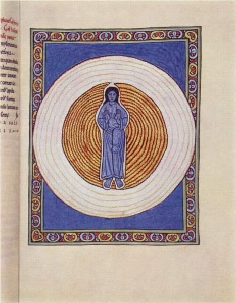 The true Trinity in true unity, c.1165 - Hildegard of Bingen