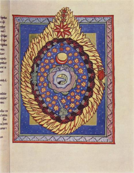 The Universe, c.1165 - Hildegard von Bingen