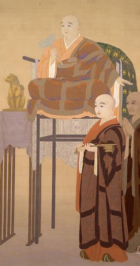 賢首菩薩, 1907 - Hishida Shunso