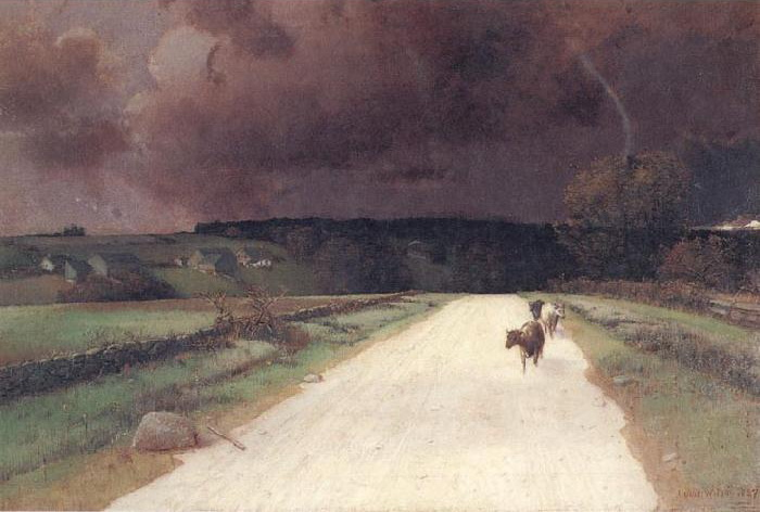 Before the Storm - Homer Watson