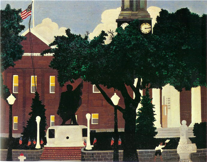 West Chester Court House - Horace Pippin