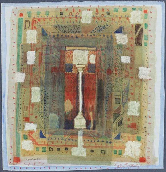 The Column, 1997 - Horia Bernea