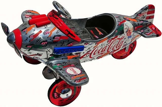 Coca Cola Airplane, 1995 - Howard Finster