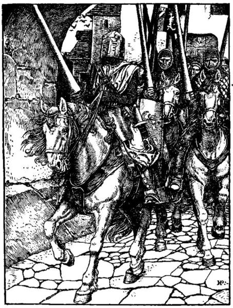 Otto of the Silver Hand 5 - Howard Pyle