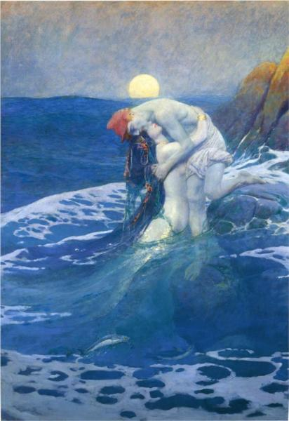 The Mermaid - Howard Pyle