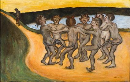 Round Dance, 1898 - Hugo Simberg