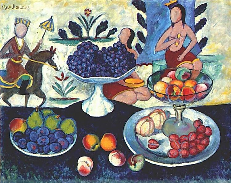Still Life of Fruit, 1913 - Ilia Machkov