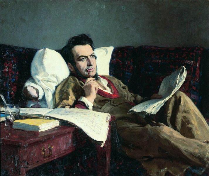 Portrait of the Composer Mikhail Glinka, 1887 - Ilya Repin