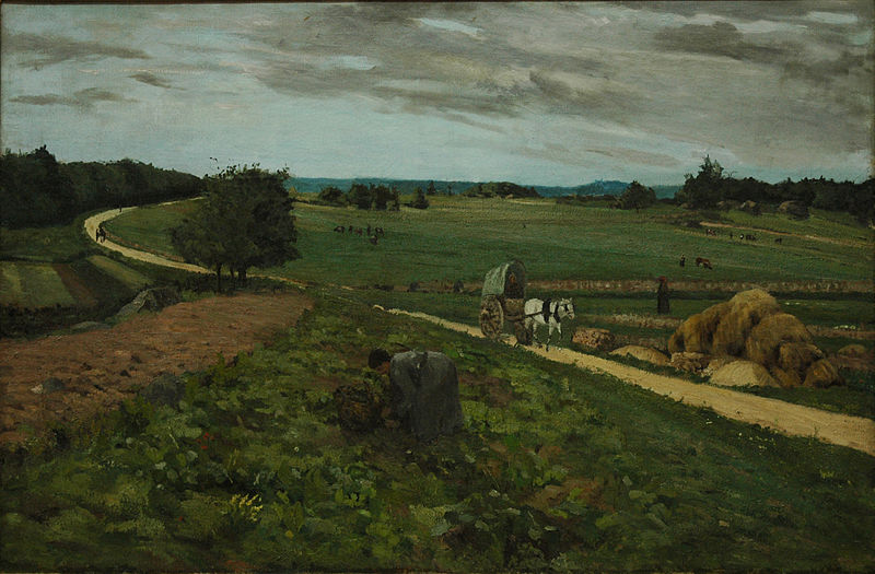 Untitled (View of a Field)