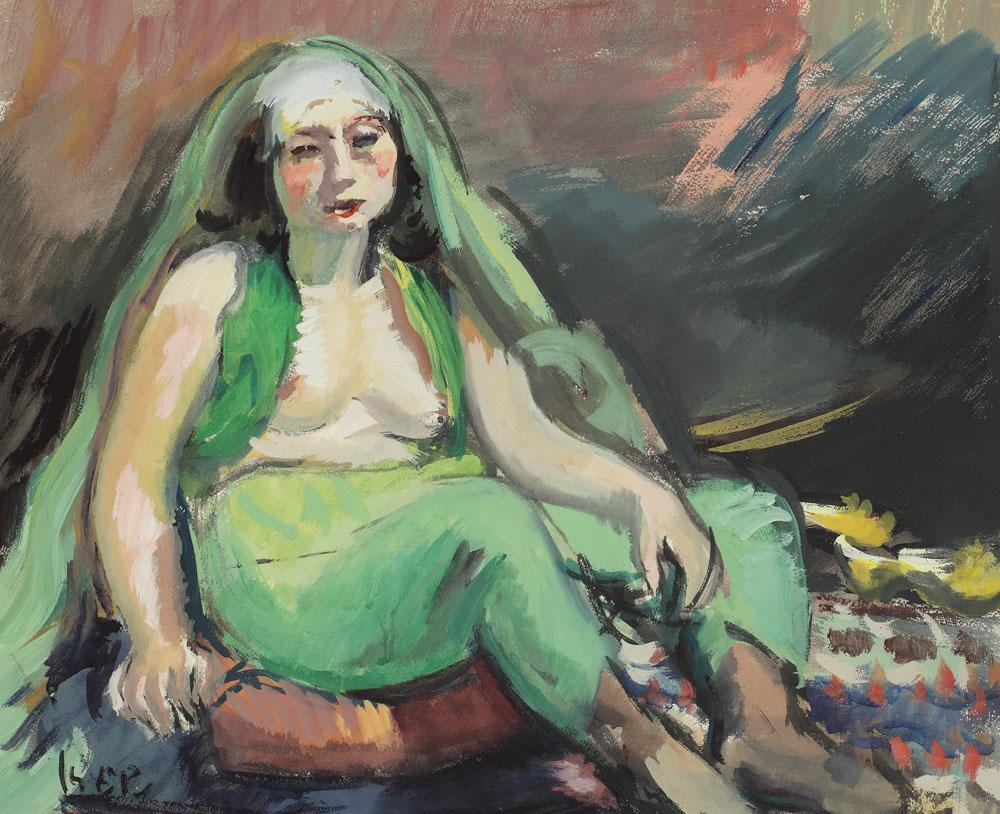 Odalisque in Green