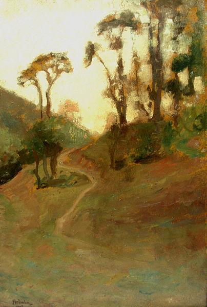Landscape, 1908 - Ipolit Strambu