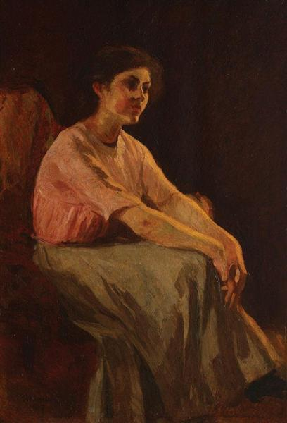 Thinking, 1917 - Ipolit Strambu