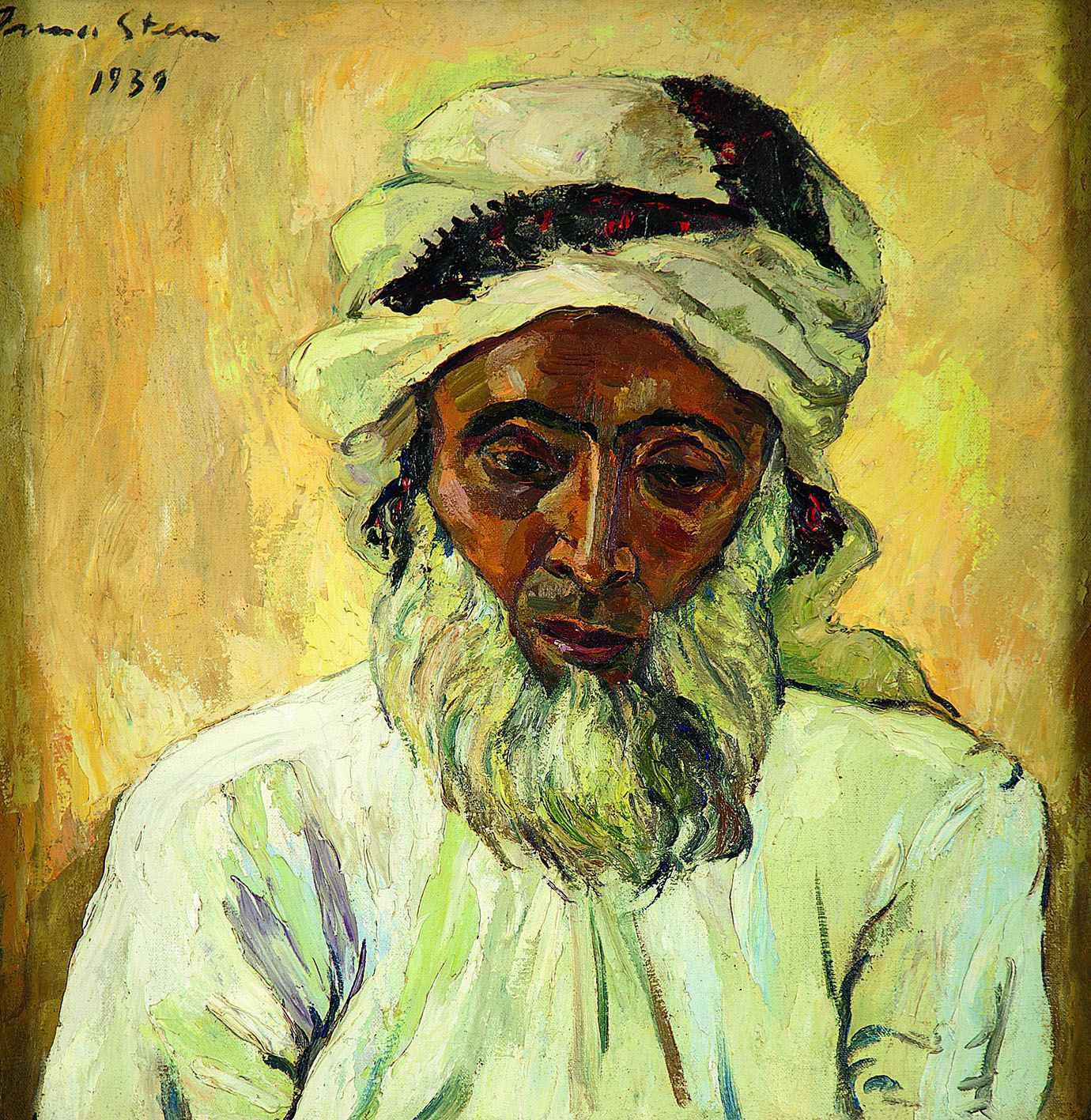 Irma Stern The Hunt Arab Irma Stern