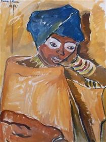Zanzibar Lady - Irma Stern