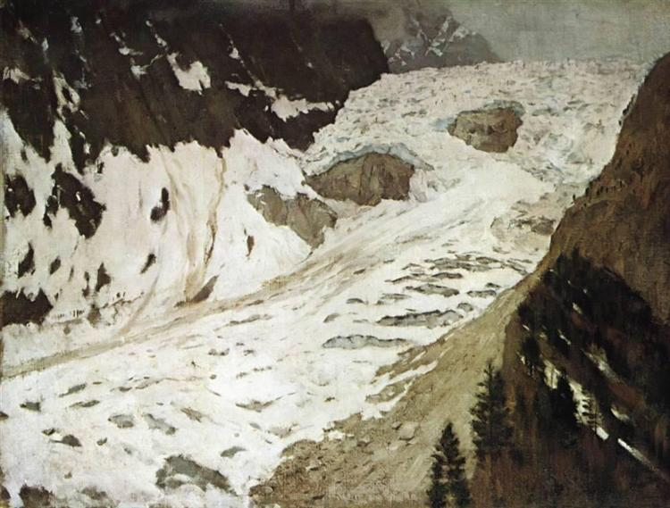 Alps. Snow., 1897 - Isaak Iljitsch Lewitan