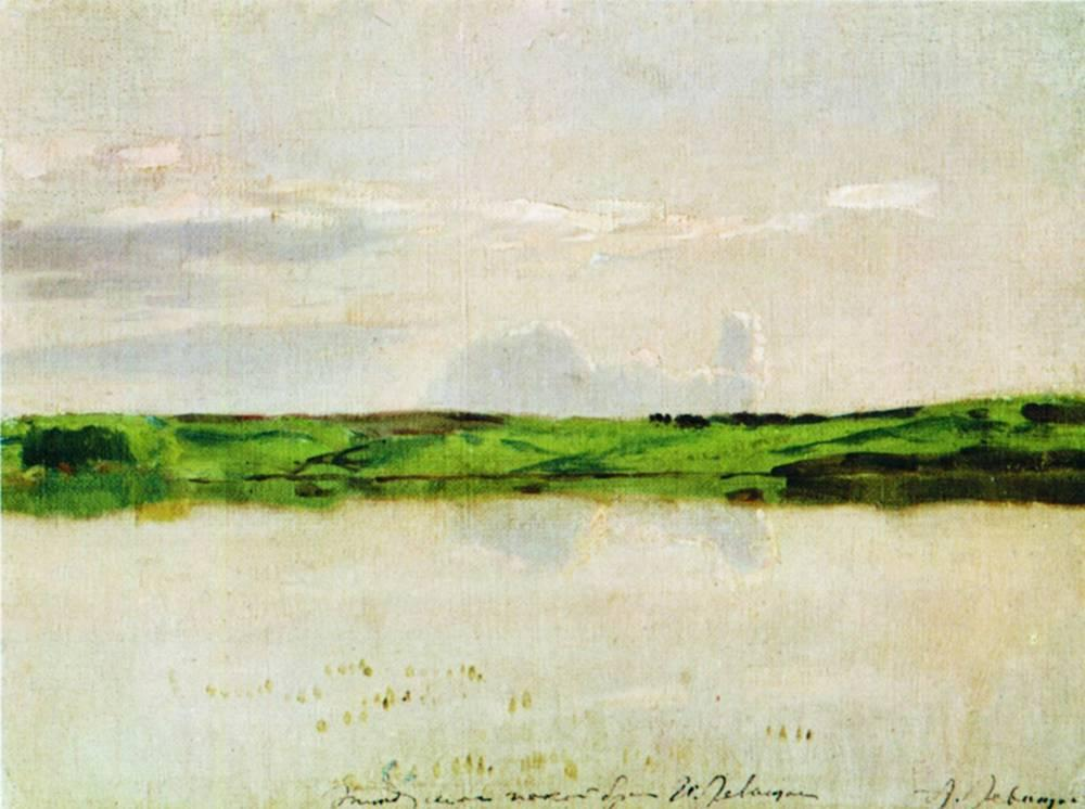 Calm Summer Evening by Isaac Levitan