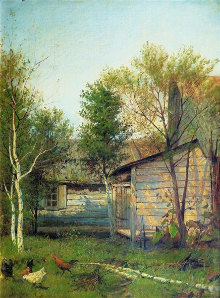 Sunny Day, 1876 - Isaak Iljitsch Lewitan