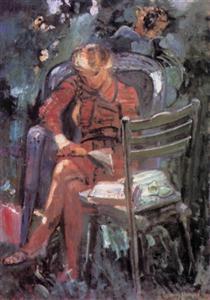Reading Girl - Иштван Илошваи Варга