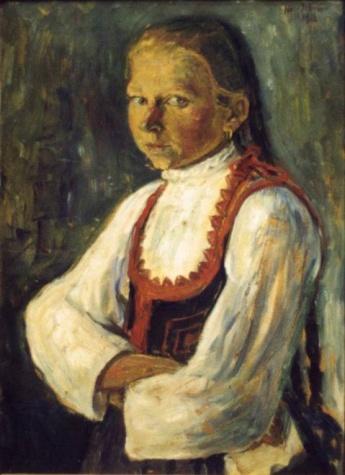 Székely girl, 1913 - István Nagy