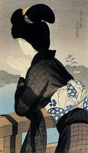 Evening Cool, 1922 - Ito Shinsui
