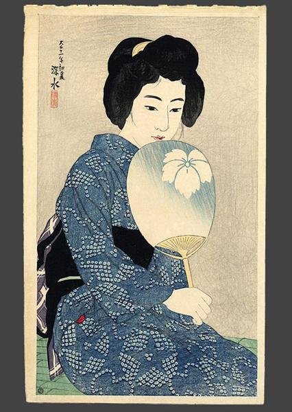 In a Yukata, 1922 - Ito Shinsui