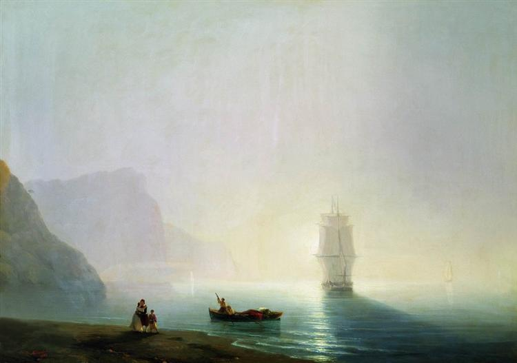 Morning, 1851 - Ivan Aivazovsky