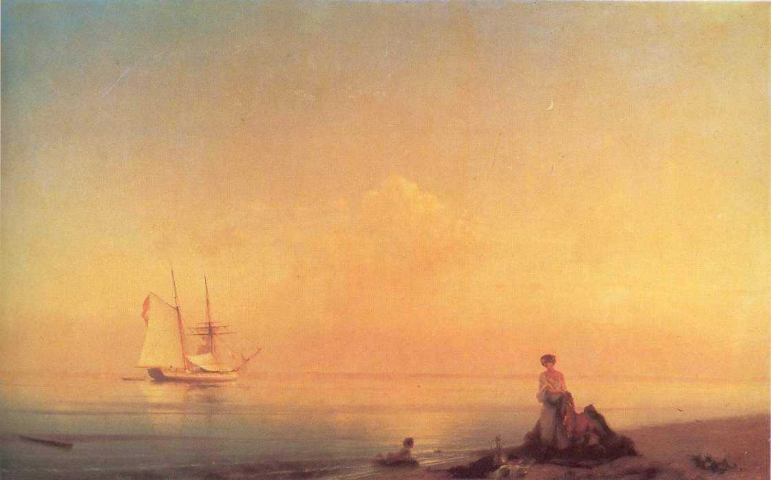Seashore, 1843