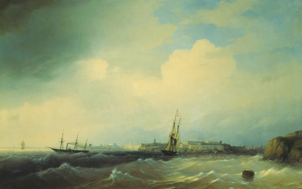 Sveaborg, 1844