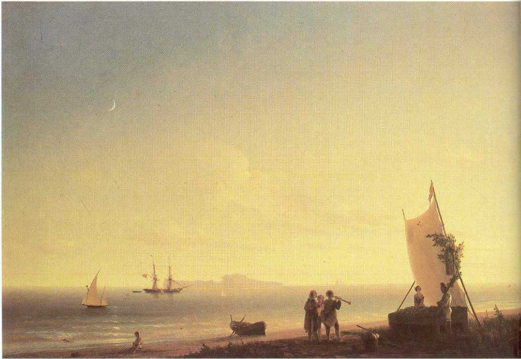 View on the Capri, 1845