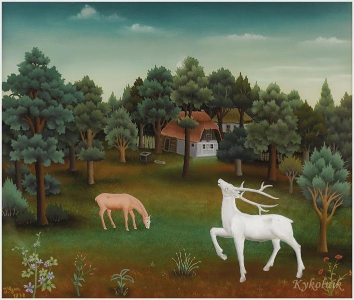 The Deer, 1978 - Ivan Generalić