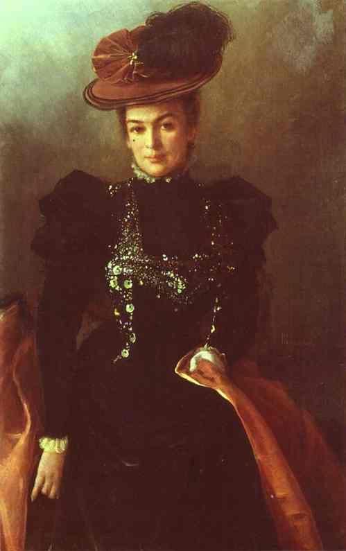 Портрет незнакомки, 1886