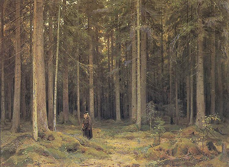 Countess Mordvinov's Forest, 1891 - Ivan Shishkin