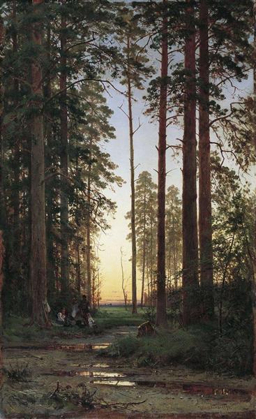 Edge of the Forest, 1879 - Ivan Shishkin