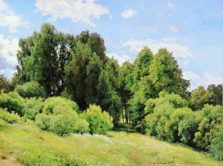 Forest Glade (Glade), 1897 - Iván Shishkin