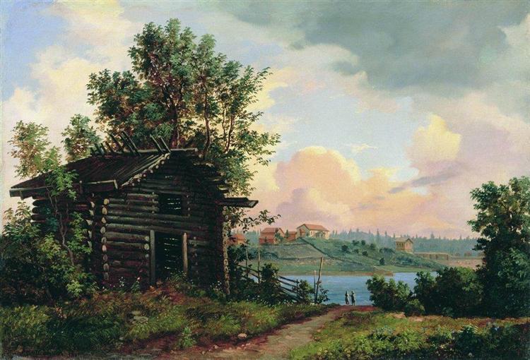Landscape, 1861 - Ivan Shishkin