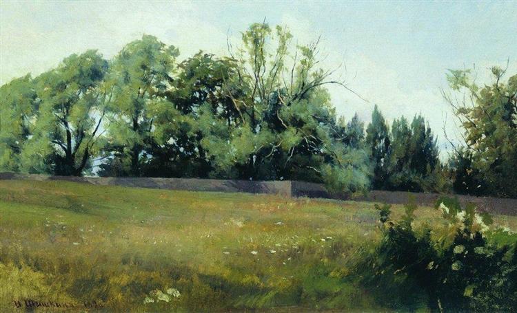 Landscape, 1898 - Iván Shishkin