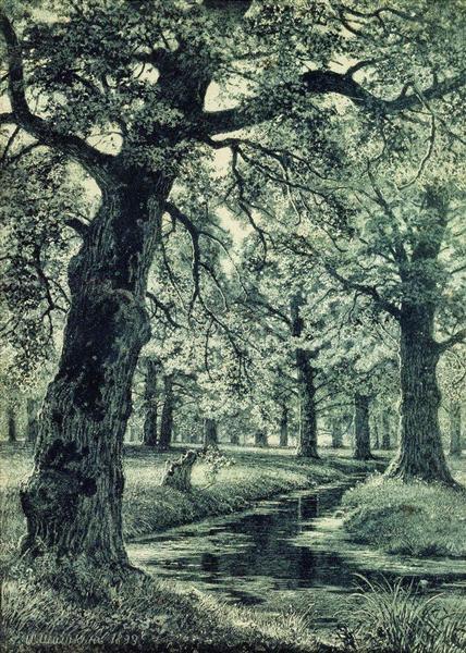 Oak Grove, 1893 - Ivan Shishkin