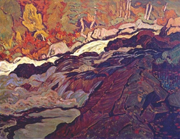 Batchawana Rapid, 1920 - J. E. H. MacDonald