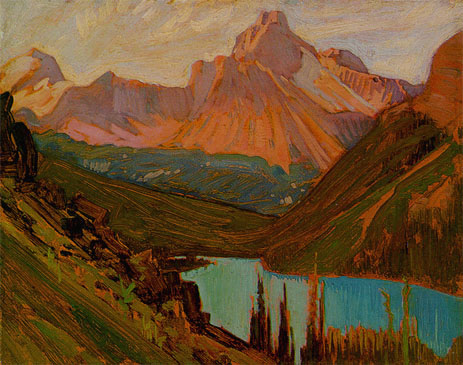 Cathedral Peak, Lake O'Hara - J. E. H. MacDonald