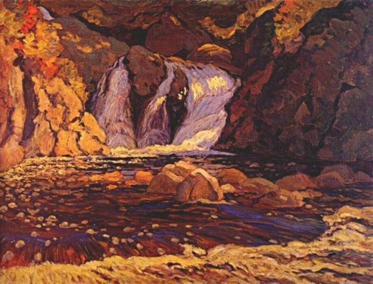 The Little Falls, 1919 - J. E. H. MacDonald