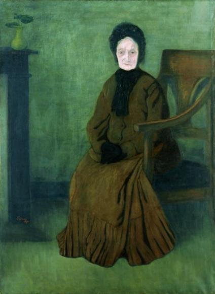 My Grandmother, 1894 - Jozsef Rippl-Ronai