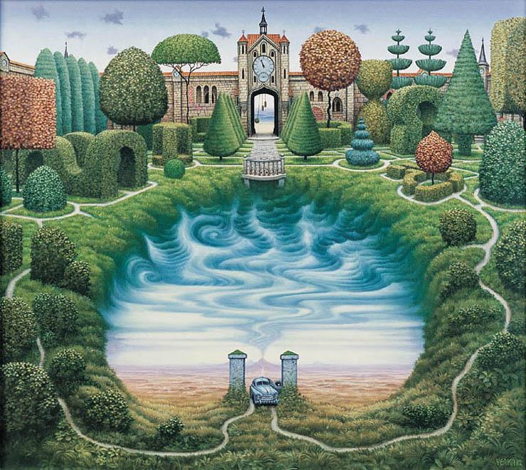 The Secret Garden Jacek Yerka