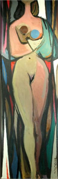 Nude, 1954 - Jack Bush