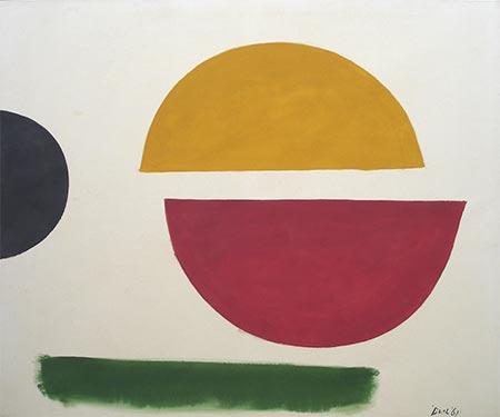 Split Circle #3, 1961 - Jack Bush