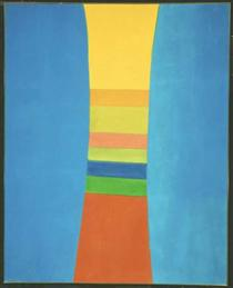 Striped Column - Jack Bush