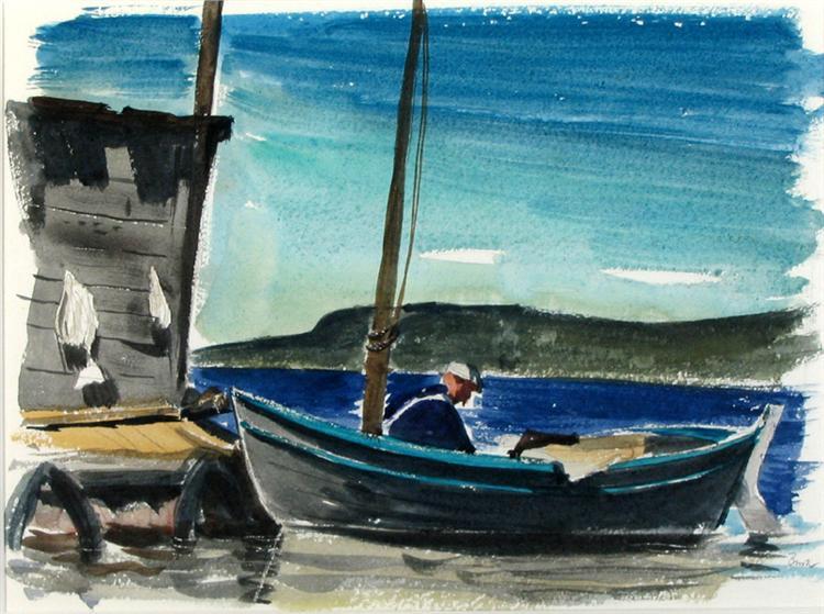 The Fisherman, 1946 - Jack Bush