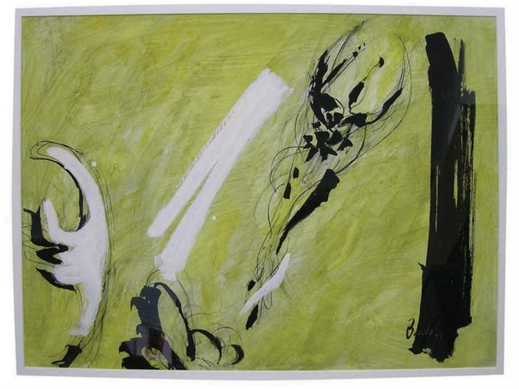 Yellow Flower, 1958 - Jack Bush