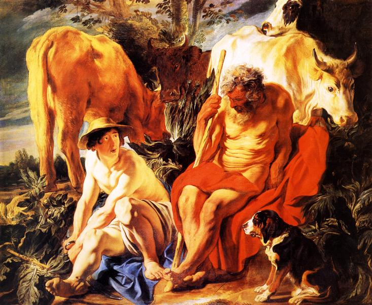 Mercury and Argos, 1620 - Jacob Jordaens