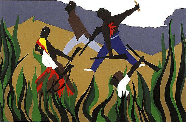 To Preserve Their Freedom (From the Toussaint L'Ouverture Series), 1988 - Jacob Lawrence